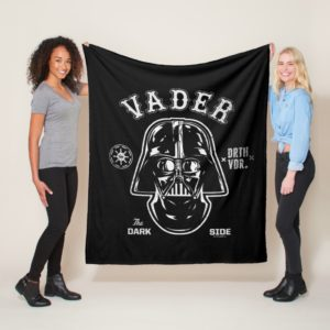 Darth Vader Dark Side Badge Fleece Blanket