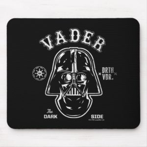 Darth Vader Dark Side Badge Mouse Pad