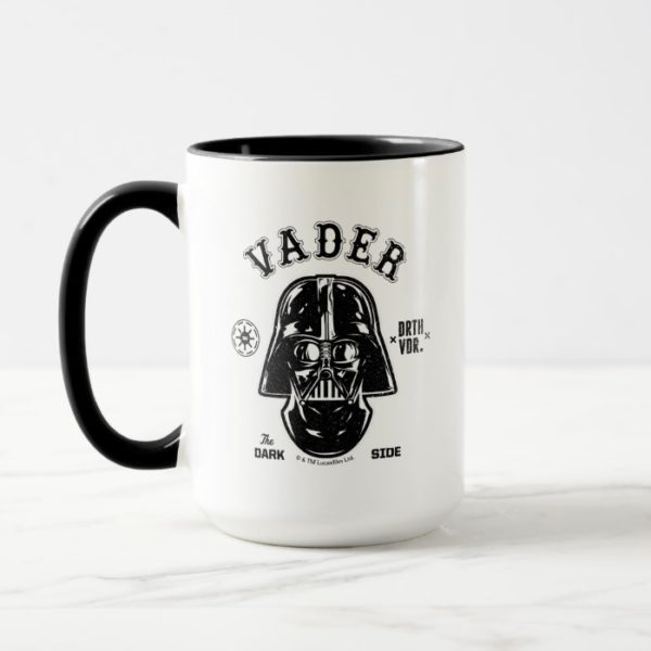 Darth Vader Dark Side Badge Mug