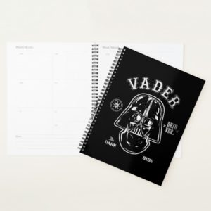 Darth Vader Dark Side Badge Planner