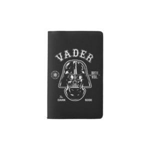 Darth Vader Dark Side Badge Pocket Moleskine Notebook