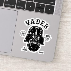 Darth Vader Dark Side Badge Sticker