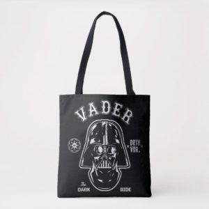 Darth Vader Dark Side Badge Tote Bag