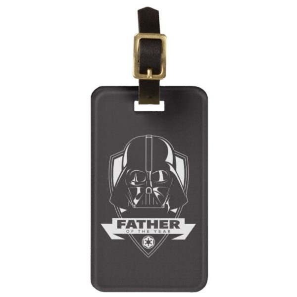 """Darth Vader """"Father of the Year"""" Crest Bag Tag"""