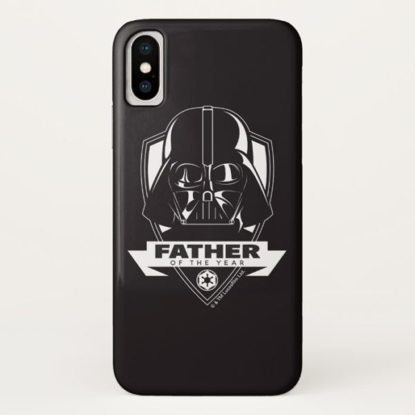 """Darth Vader """"Father of the Year"""" Crest Case-Mate iPhone Case"""