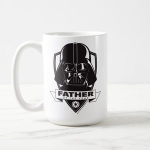"""Darth Vader """"Father of the Year"""" Crest Coffee Mug"""