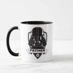 """Darth Vader """"Father of the Year"""" Crest Mug"""
