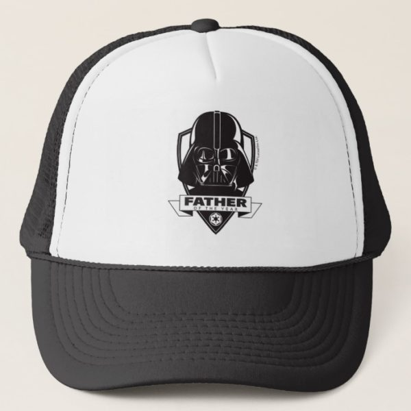 """Darth Vader """"Father of the Year"""" Crest Trucker Hat"""