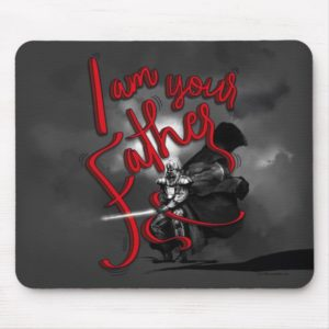 "Darth Vader ""I Am Your Father"" Illustration Mouse Pad"