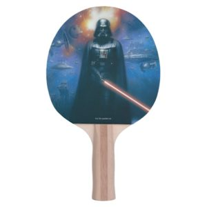 Darth Vader Imperial Forces Illustration Ping Pong Paddle