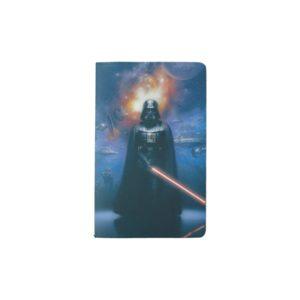 Darth Vader Imperial Forces Illustration Pocket Moleskine Notebook