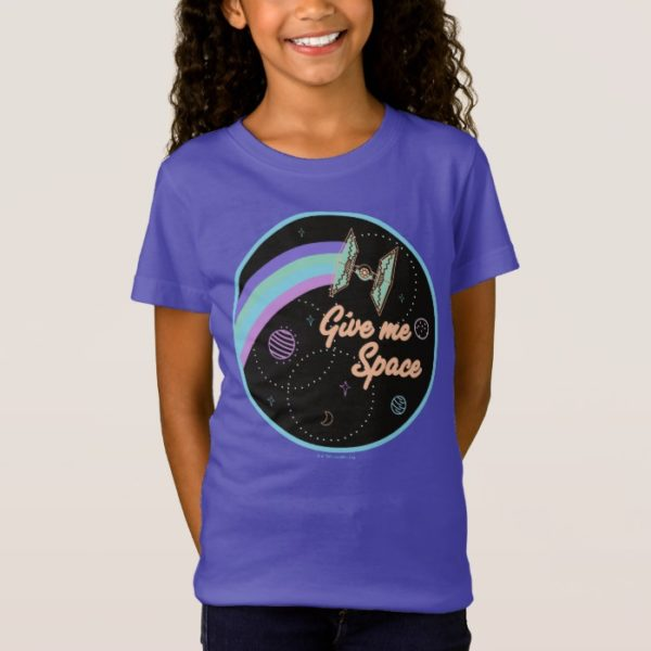 """""""Give Me Space"""" TIE Fighter Graphic T-Shirt"""