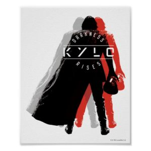 Kylo Ren | Darkness Rises Poster