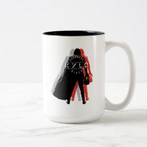Kylo Ren | Darkness Rises Two-Tone Coffee Mug