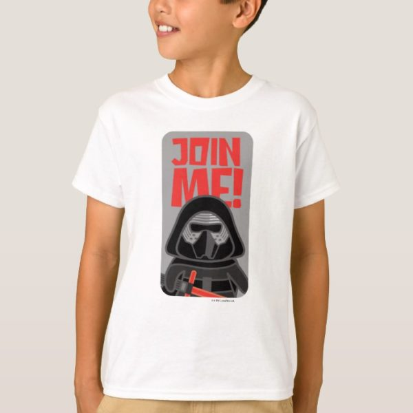 Kylo Ren | Join Me Badge T-Shirt