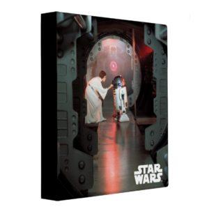 Leia and R2-D2 Secret Message Scene 3 Ring Binder