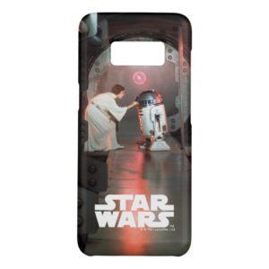 Leia and R2-D2 Secret Message Scene Case-Mate Samsung Galaxy S8 Case