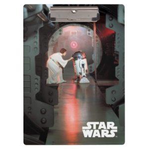 Leia and R2-D2 Secret Message Scene Clipboard