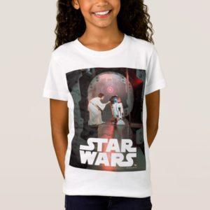 Leia and R2-D2 Secret Message Scene T-Shirt