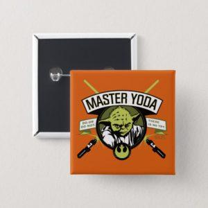 Master Yoda Lightsaber Badge Button