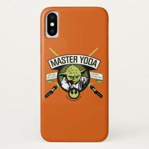 Master Yoda Lightsaber Badge Case-Mate iPhone Case