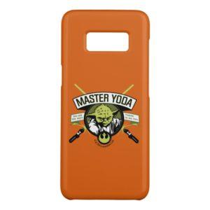 Master Yoda Lightsaber Badge Case-Mate Samsung Galaxy S8 Case