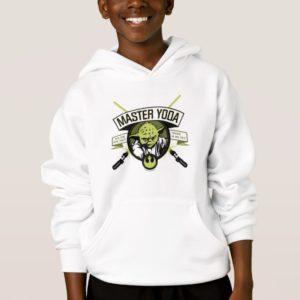 Master Yoda Lightsaber Badge Hoodie