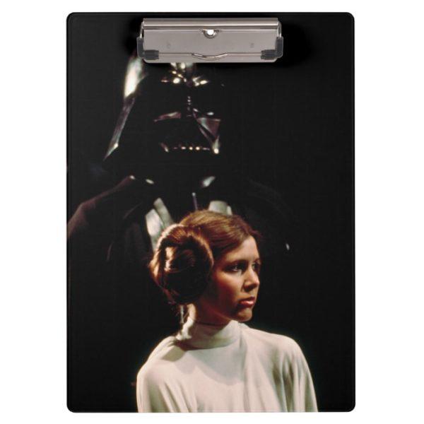 Princess Leia and Darth Vader Photo Clipboard