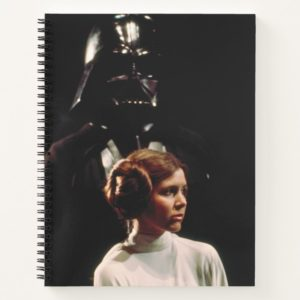 Princess Leia and Darth Vader Photo Notebook
