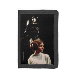 Princess Leia and Darth Vader Photo Trifold Wallet
