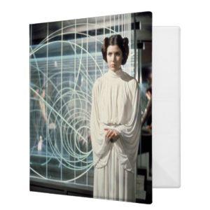 Princess Leia as Senator Film Still 3 Ring Binder