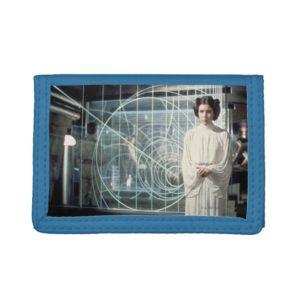Princess Leia as Senator Film Still Trifold Wallet