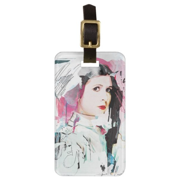 Princess Leia | Rebel Collage Bag Tag