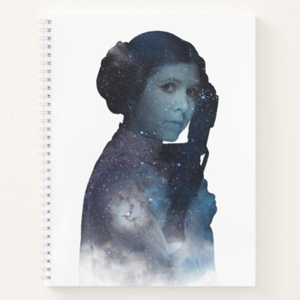Princess Leia | Space Silhouette Notebook