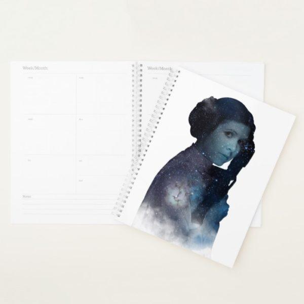 Princess Leia | Space Silhouette Planner