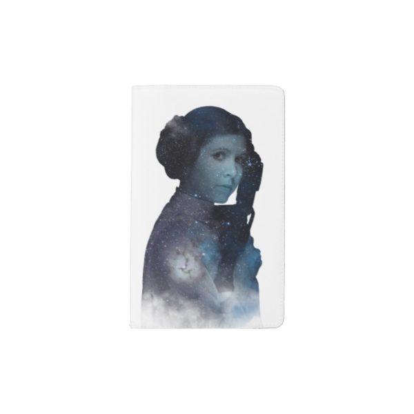 Princess Leia | Space Silhouette Pocket Moleskine Notebook