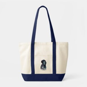 Princess Leia | Space Silhouette Tote Bag