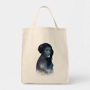 Princess Leia | Space Silhouette Tote Bag