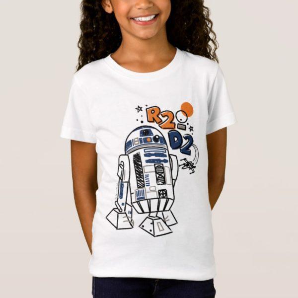 R2-D2 Doodle T-Shirt