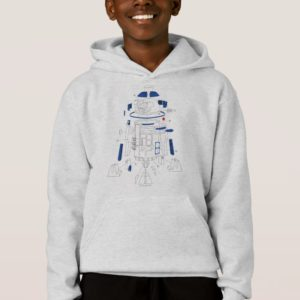 R2-D2 Exploded View Drawing Hoodie