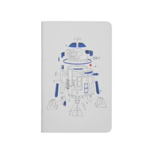 R2-D2 Exploded View Drawing Journal