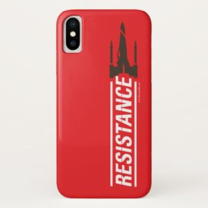 Resistance X-Wing Typography Case-Mate iPhone Case