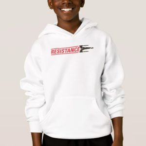 Resistance X-Wing Typography Hoodie