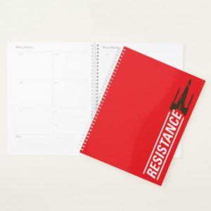 Resistance X-Wing Typography Planner