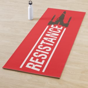 Resistance X-Wing Typography Yoga Mat