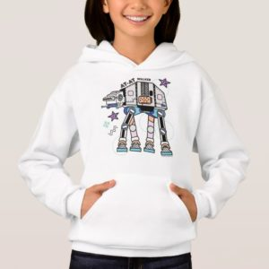 Retro Stylized AT-AT Walker Hoodie