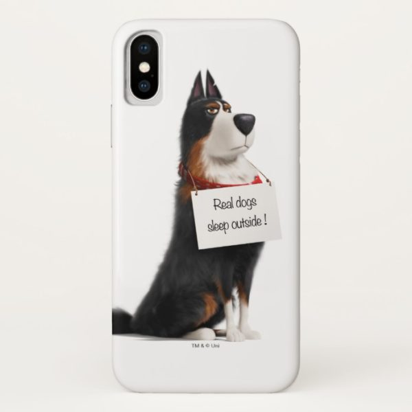 Rooster - Real Dogs Sleep Outside Case-Mate iPhone Case