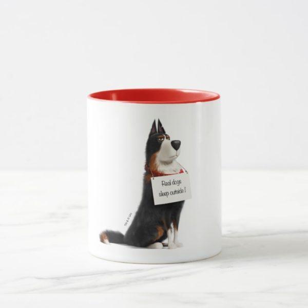 Rooster - Real Dogs Sleep Outside Mug