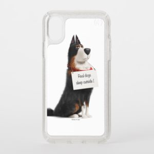Rooster - Real Dogs Sleep Outside Speck iPhone Case
