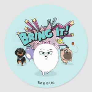 Secret Life of Pets | Bing It! Classic Round Sticker